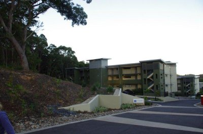 Our apartment complex at Coffs Harbour