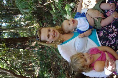 During the Tamborine Mountain walk