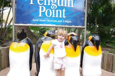 Nadia and the Penguins