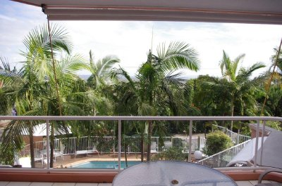 The view from our Noosa apartment