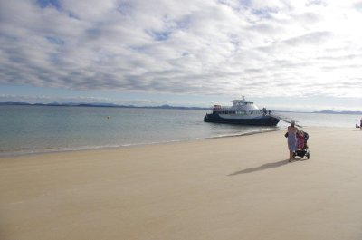 About to board the ferry from Great Keppel Island back to the mainland