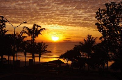 Sunrise over Yeppoon Beach