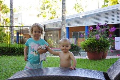 Nadia and Isaac at Kewarra Beach