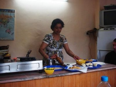 Nisha's cookery school, Mcleod Ganj, India