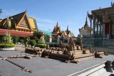 Model of Angkor Wat
