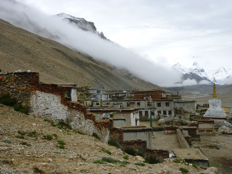 Rongbuk Monastery, Mt Everest