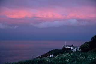 sunset, Sark, Channel Islands