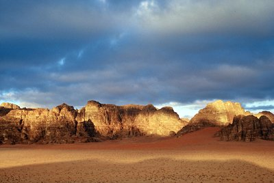 dawn in Wadi Rum