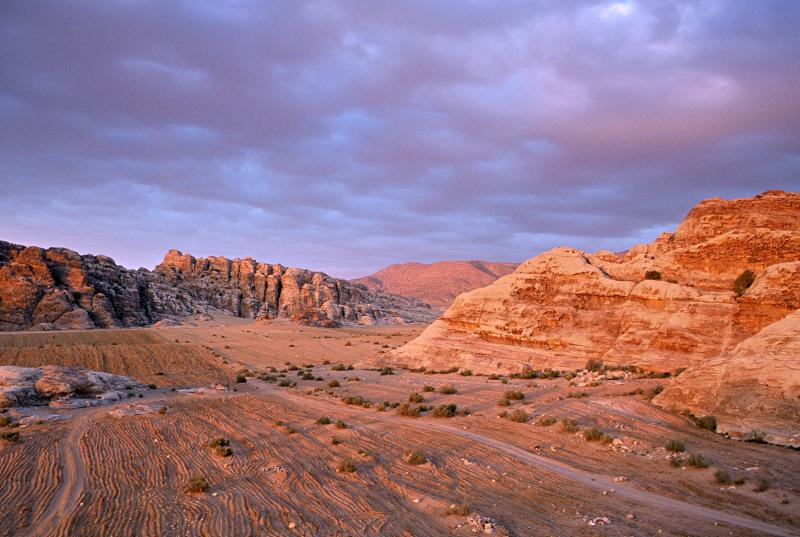 'Little' Petra at sunset