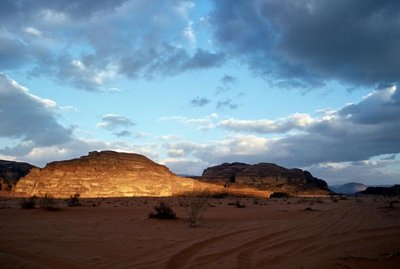Wadi Rum, sunrise