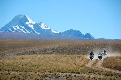 Detour leaving La Paz