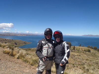 Us and Lake Titicaca