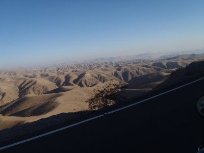 Road from Cusco to Nazca