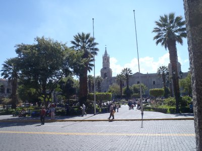 Main Plaza Arequipa