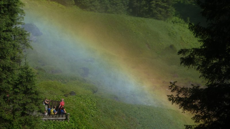 Krimml Falls Rainbow