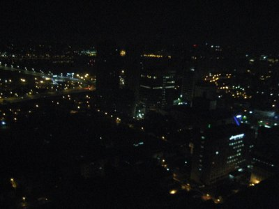night view from my room