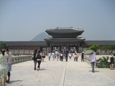 korean palace entry