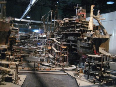 mini shipyard set used for 3d animation