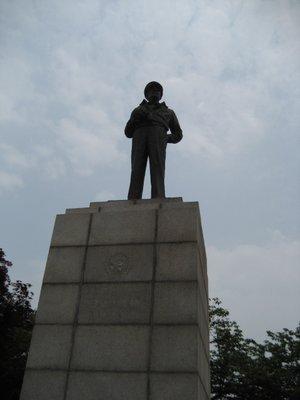"general McArthur whom my dad states ""saved Korea"""