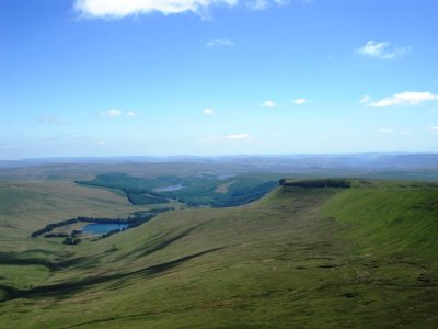 From the Top of Pen Y Fan