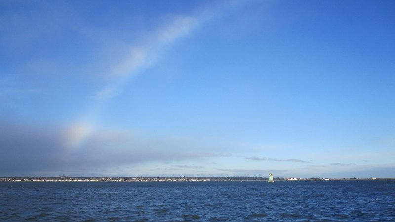 Rainbow from the Pier