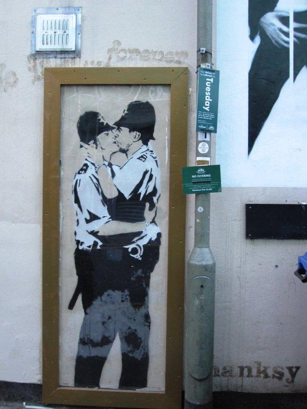 Banksy's Cops