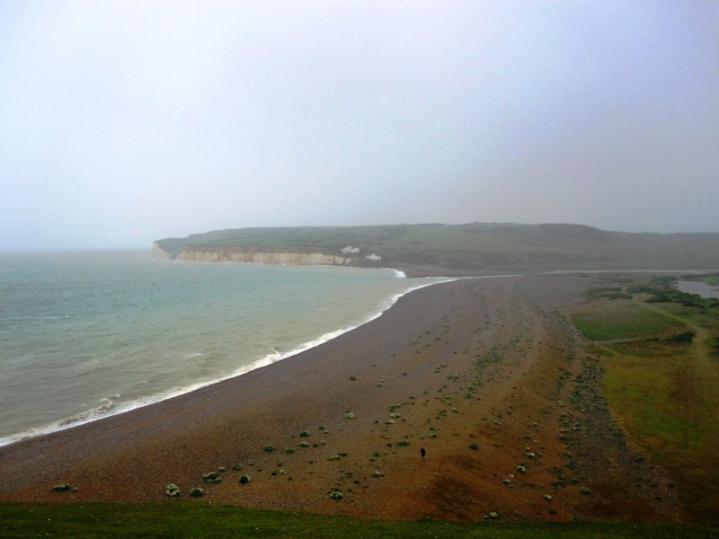 View of Cuckmere Haven from Cliff