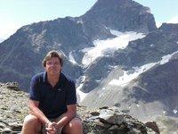 On the Piz Nair (3097 m)
