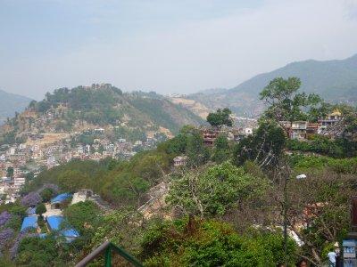 Kathmandu from Monkey Temple