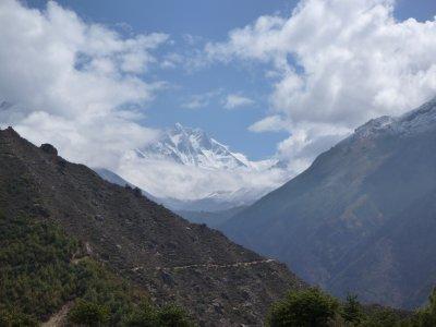 View of Lhotse (4th highest peak)