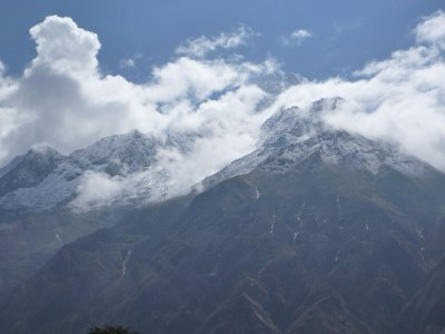 Mountain view from Namche