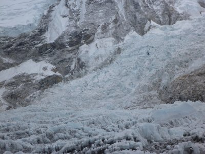 Khumbu Icefalls (this is were the ascent up Everest begins)