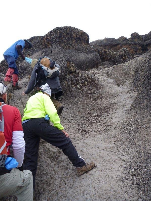 Climbing the Barronco Wall 2