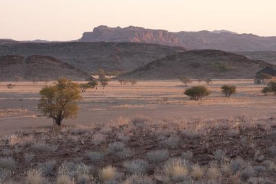 Scenery at Twyfontein