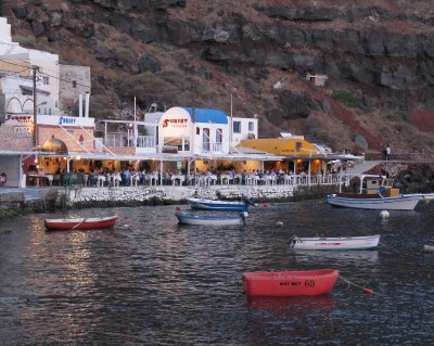 Ammoudi harbour