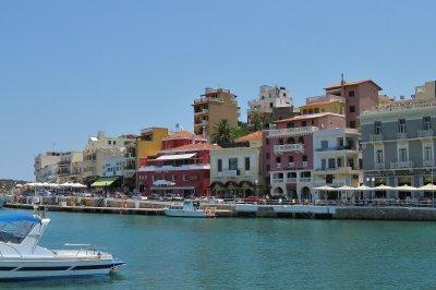 Agios Nikolaos harbour, Crete