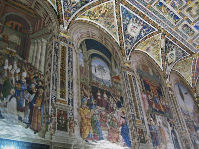 Frescoes - Piccolomini Library