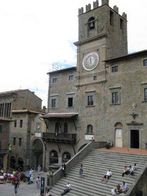 Main piazza - Cortona