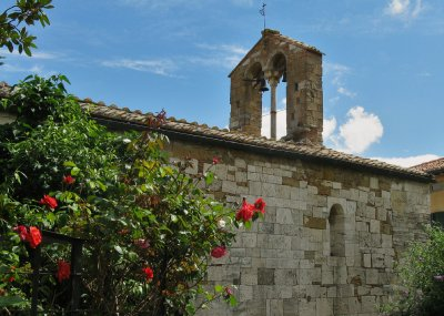 Santa Maria church, San Quirico