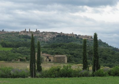 Hill town of Montalcino