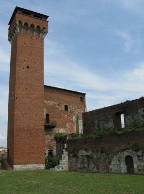 Medieval citadel along River Arno