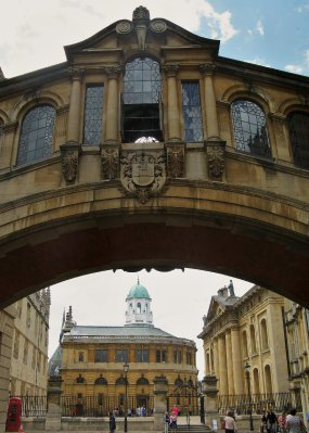 Bridge of Sighs and Radcliffe Camera