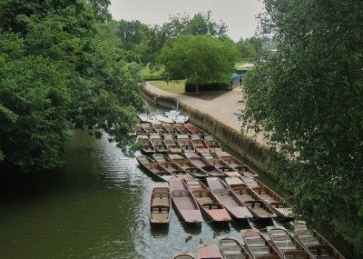 Punts on the River Cherwell