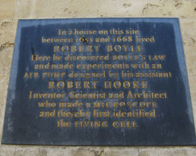 Plaque outside University College