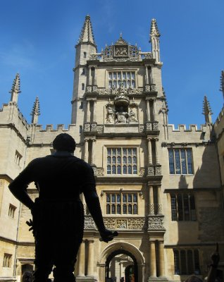 Bodleian Library - Tower of the Five Orders