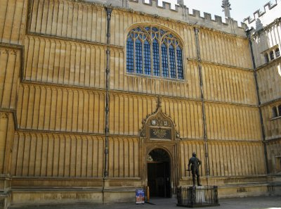 Divinity School attached to Bodleian Library