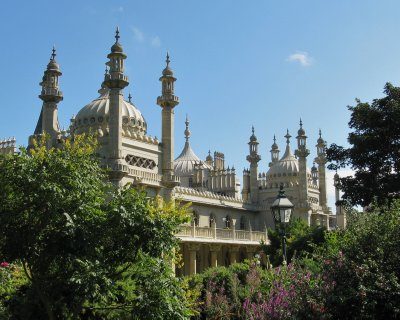 Royal Pavilion, built by the Prince Regent (later George IV)