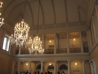 Inside Assembly Rooms
