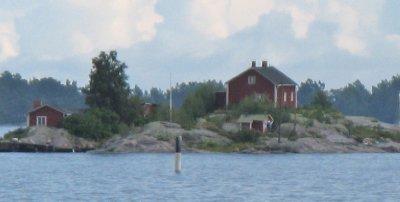 One-cabin island