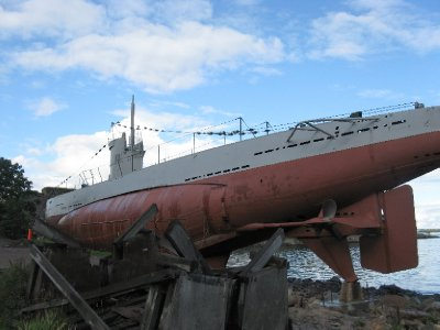 Vesikko museum - 1933 Finnish Navy sub